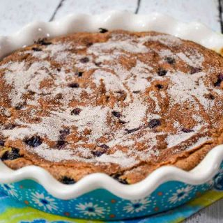 Blueberry Coffee Cake with Cream Cheese Featured Image
