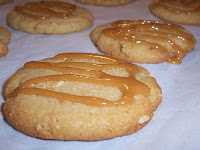 Cashew Caramel Cookies with Fleur de Sel