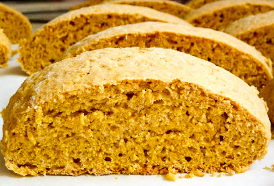 Fall Leaves & Pumpkin Biscotti - Grumpy's Honey Bunch