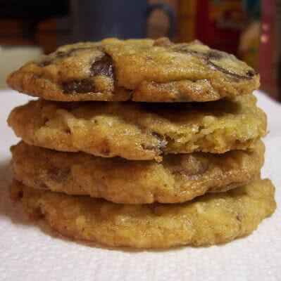 Coconut, Chocolate and Pecan Cookies