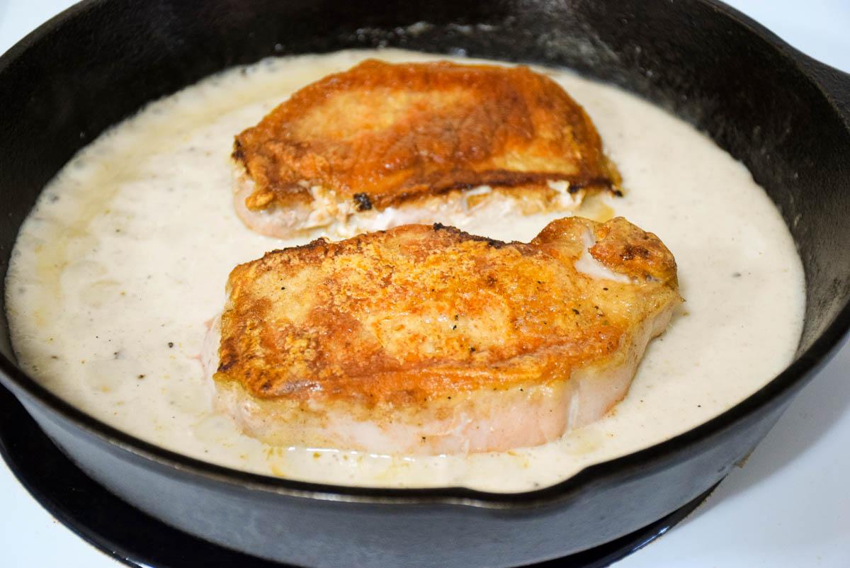 Braised Country Pork Chops