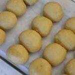 shaped roll dough