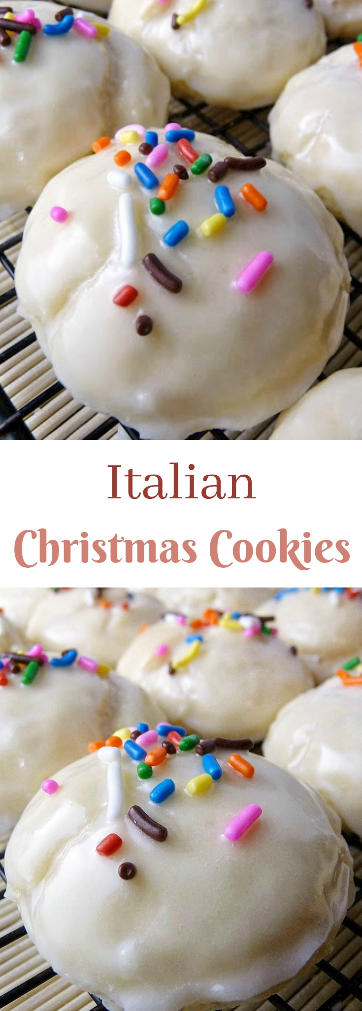 Italian Christmas Cookies - Grumpy's Honey Bunch