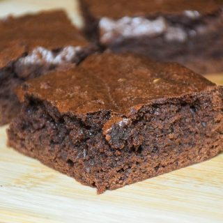 Bailey's Irish Cream Fudge Brownies