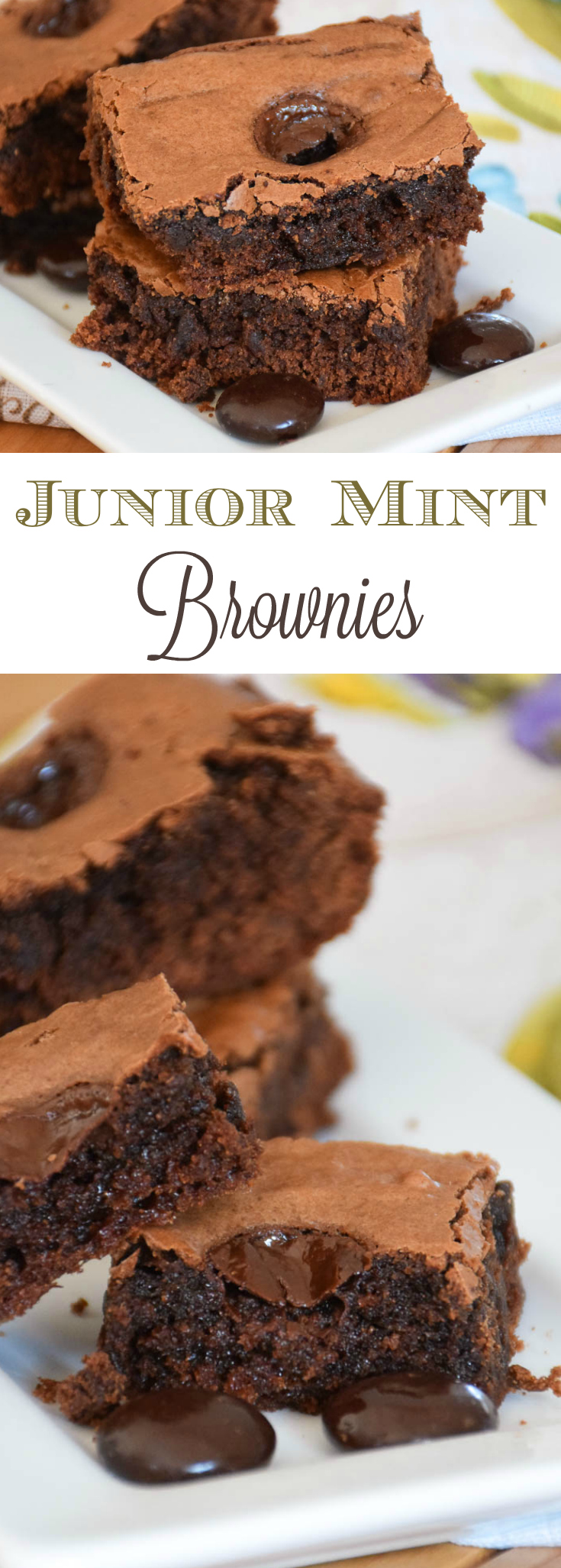 Junior Mint Brownies