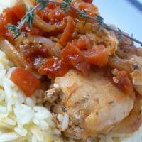Chipotle Chicken over rice