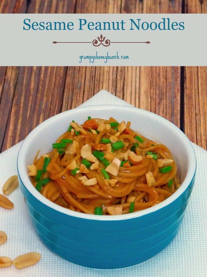 Sesame Peanut Noodles