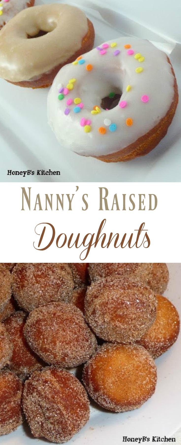 Nanny's Raised Doughnuts