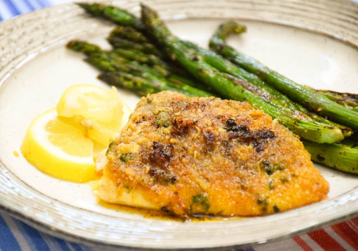 Baked Red Snapper Fillets with Garlic