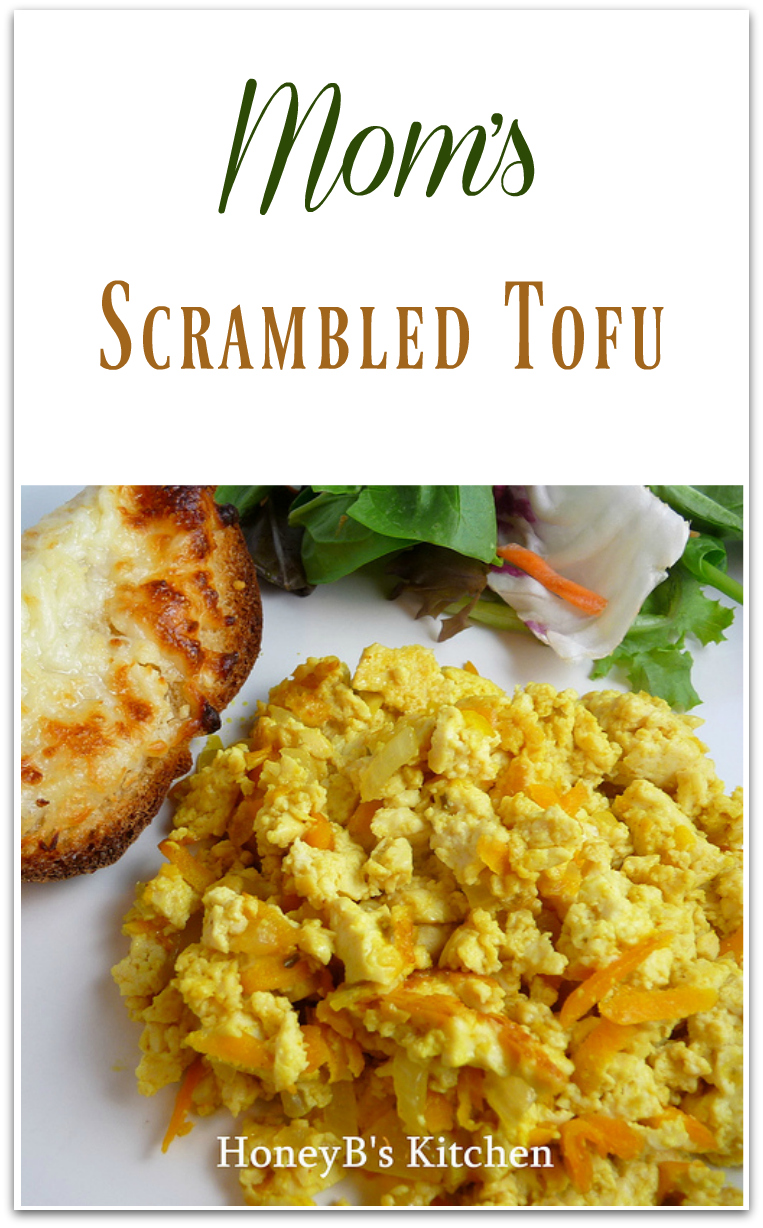 Mom's Scrambled Tofu