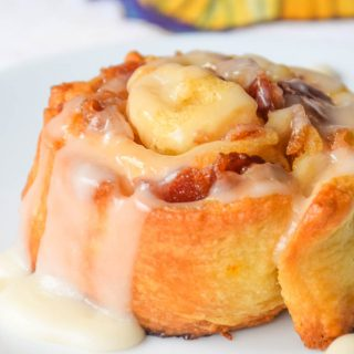 5-Ingredient Bacon Maple Breakfast Rolls