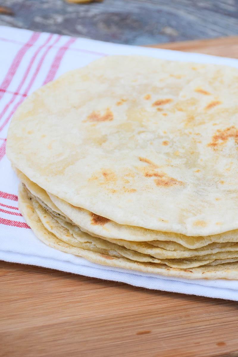 Homemade Flour Tortillas