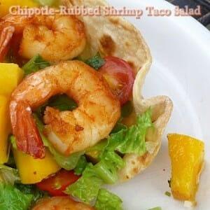 Chipotle Shrimp Taco Salad