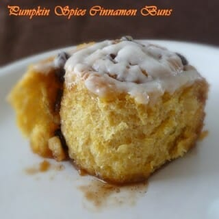 Pumpkin Spice Cinnamon Buns