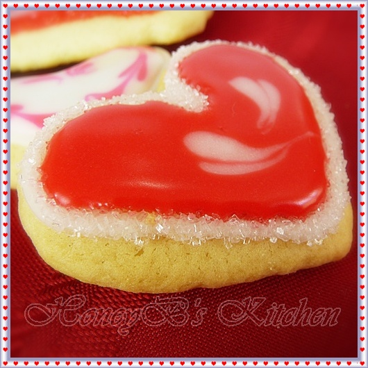 Valentine Gift Idea for Soft Sugar Cookies