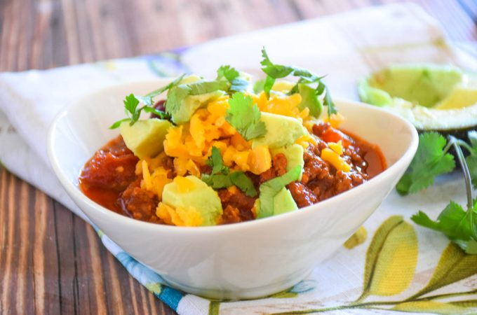 Spicy Sweet Chili Bowl