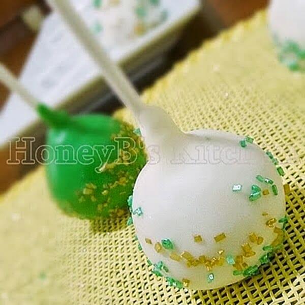 Irish Cream Cake Pops