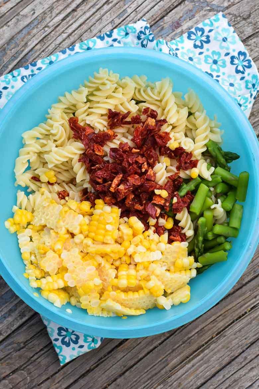 Pasta Salad with Creamy Parmesan