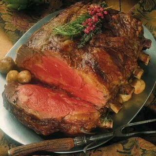 Prime Rib Roast with Pan Gravy