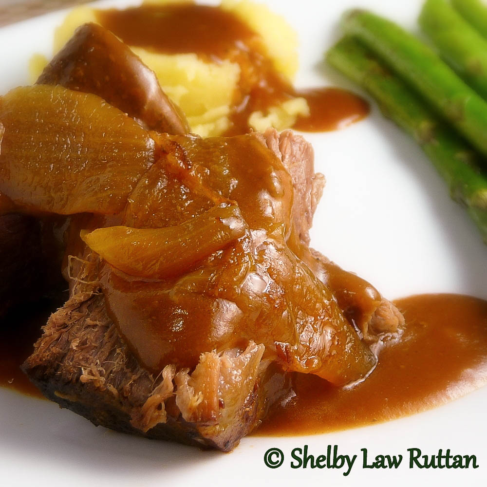Pot Roast with Onions