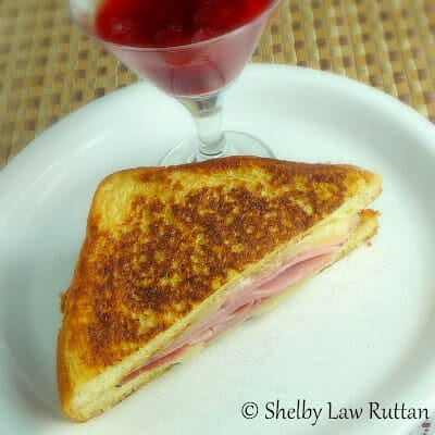 Monte Cristo with Strawberry Habanero Jam
