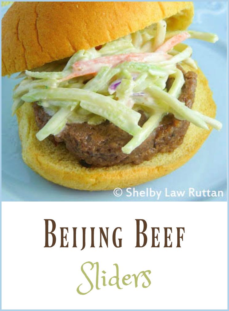 Beijing Beef Sliders