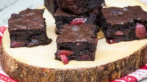 Black Forest Brownies Featured Image