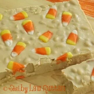 Halloween Candy Corn Fudge Recipe