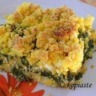 Thanksgiving Side Dish Recipe for Savory Corn Crumble