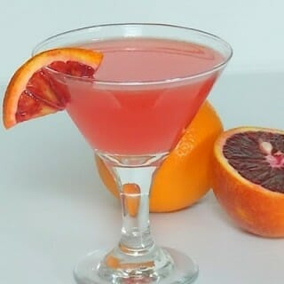 Blood Orange Martini and Happy Birthday Grumpy!