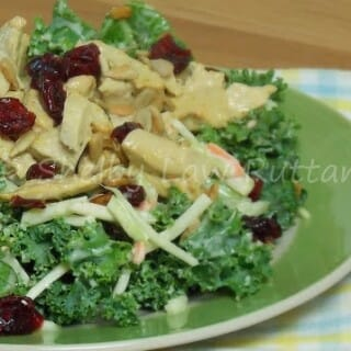 Broccoli Slaw and Kale Salad