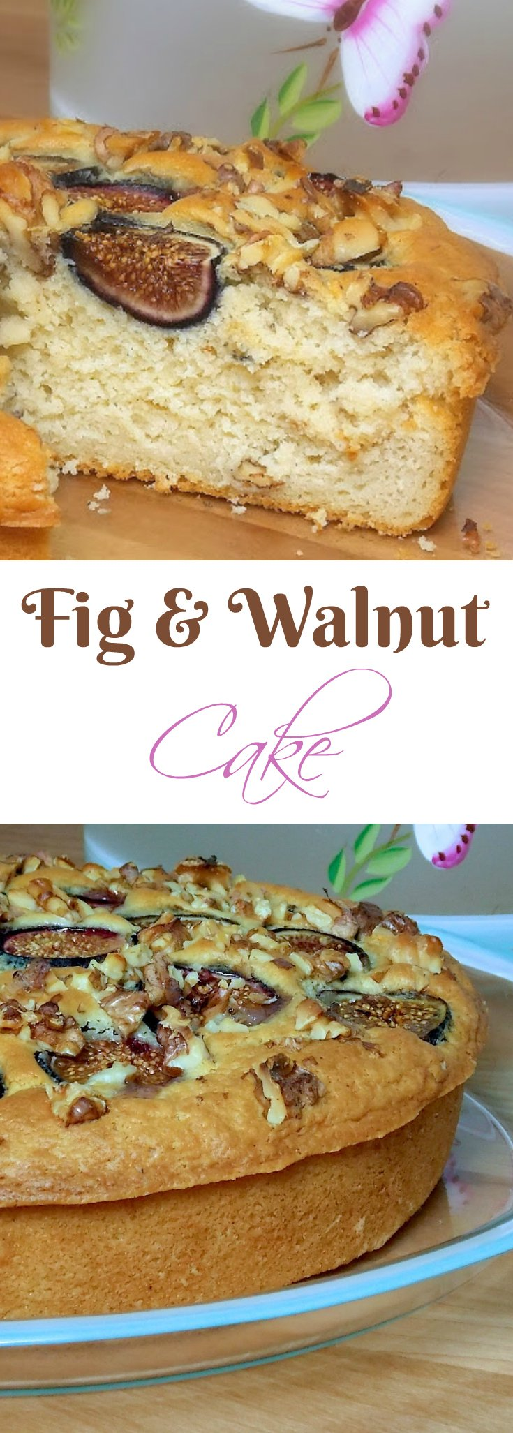 Fig and Walnut Cake