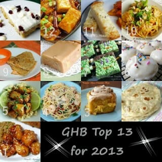 GHB Top 13 Recipes for 2013