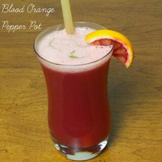Blood Orange Pepper Pot