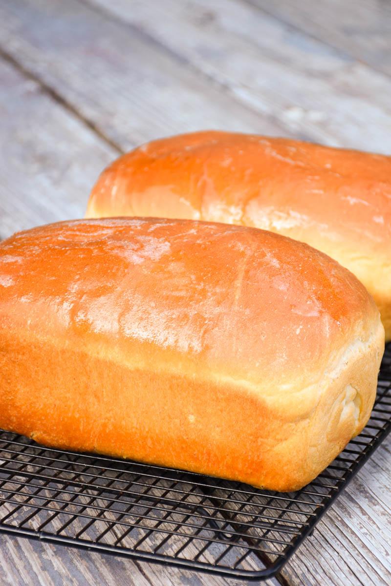 Squishy White Bread Recipe : Homemade Soft White Bread - Grumpy s Honey Bunch