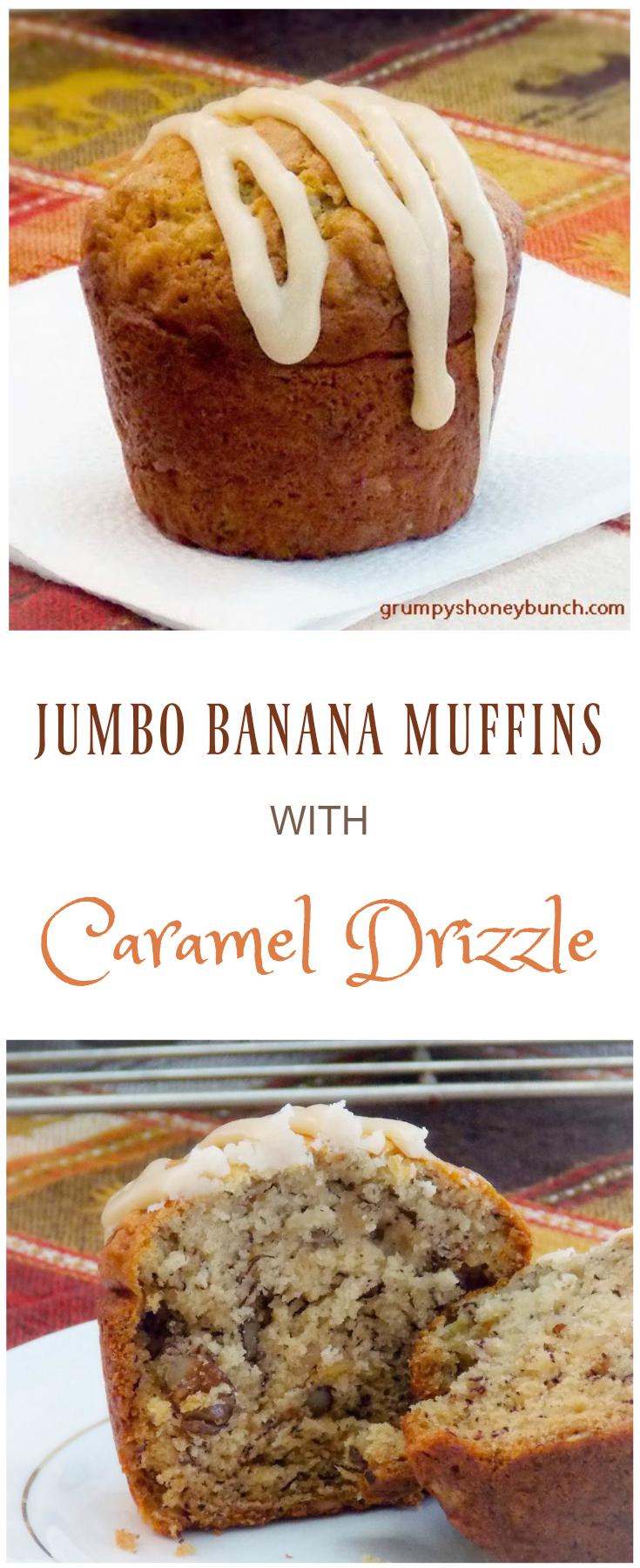 Jumbo Banana Muffins