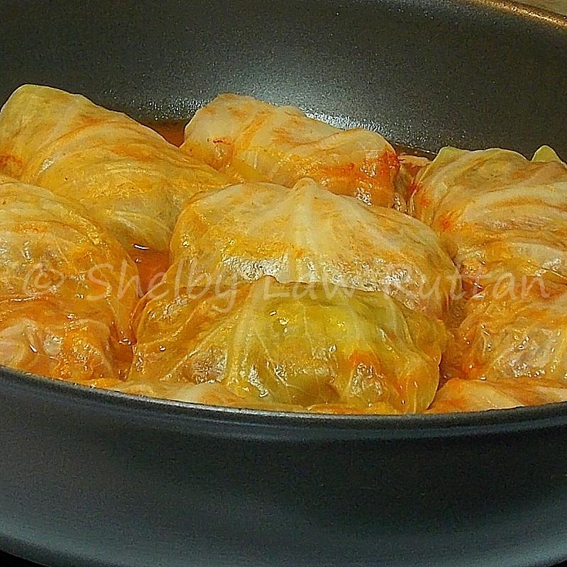 Venison Cabbage Rolls