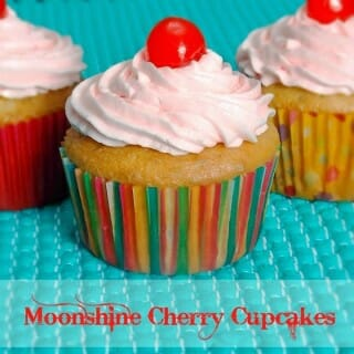 Moonshine Cherry Cupcakes