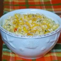 Cheesy Sweet Hot Peppers and Corn