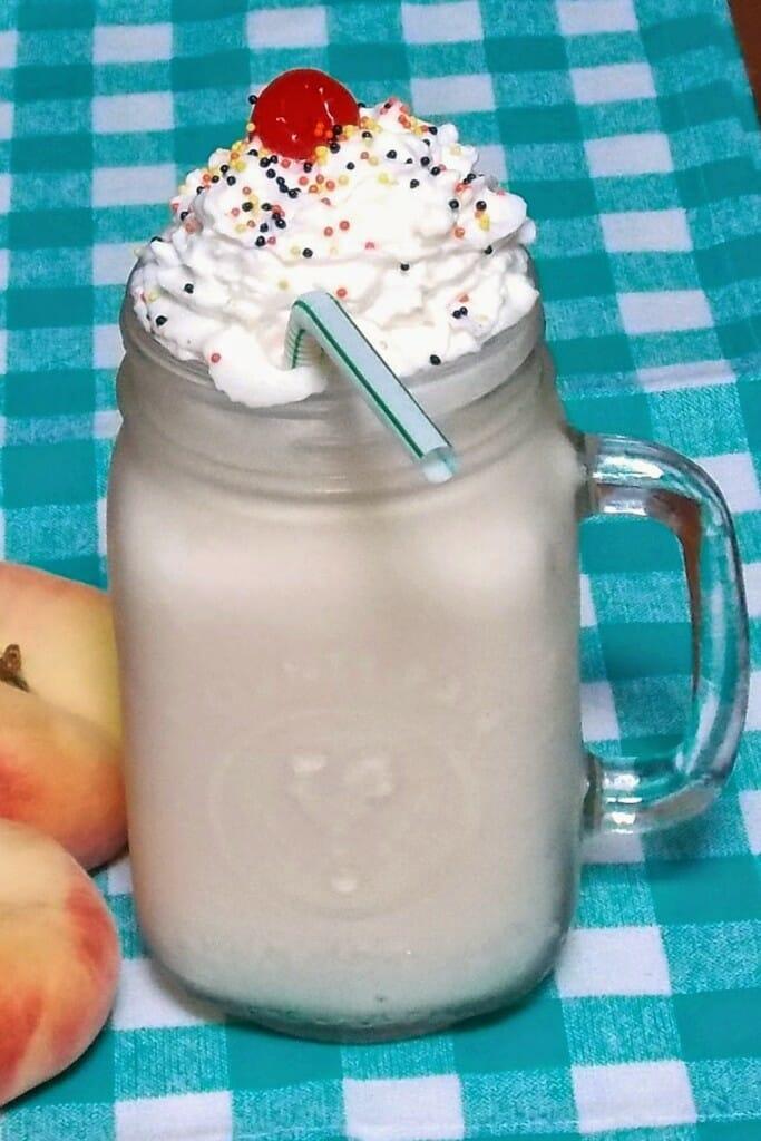 Kickin Peach Milkshake