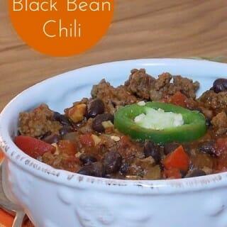 Mexican Black Bean Chili
