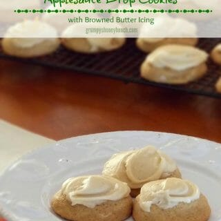 Applesauce Drop Cookies