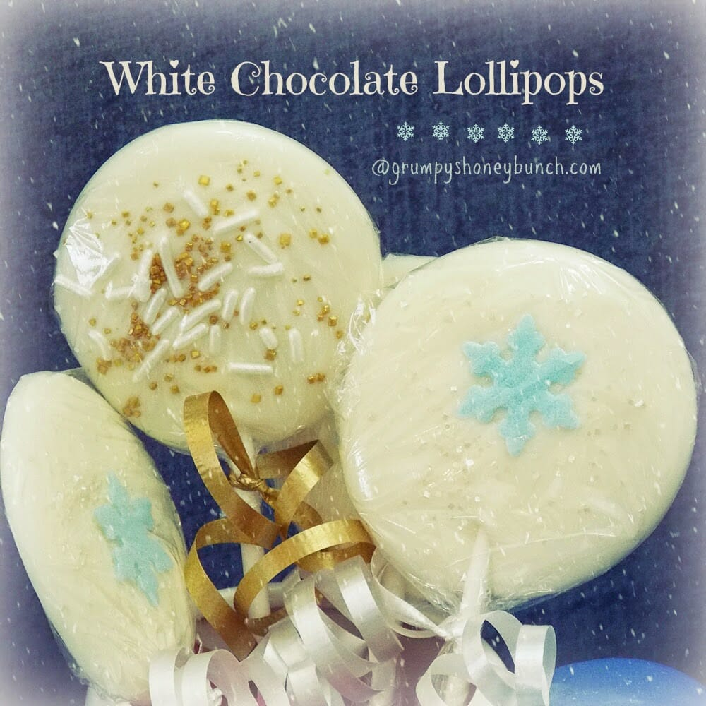 White Chocolate Lollipops