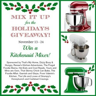 Thanksgiving Kitchenaid Giveaway