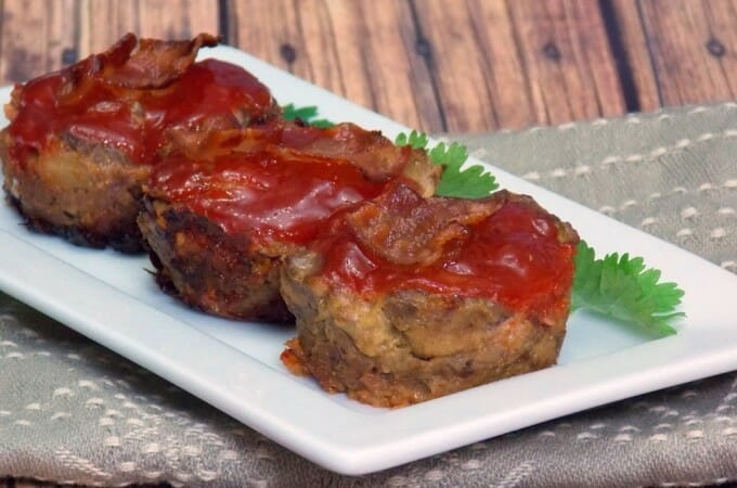 Bacon Cheeseburger Meatloaf Muffins