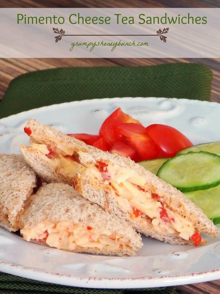 Pimento Cheese Tea Sandwiches