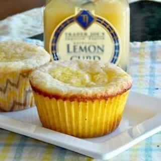 Lemon Mascarpone Muffins