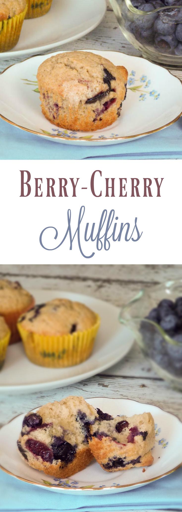 Berry Cherry Muffins