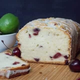 Cherry Pound Cake Featured