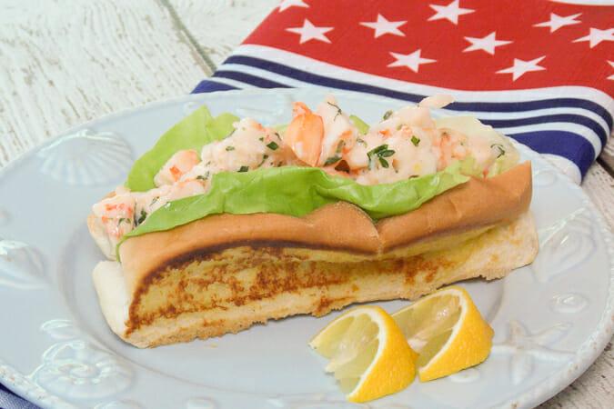 Shrimp Salad Rolls #WeekdaySupper